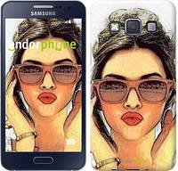 """Чехол на Samsung Galaxy A3 A300H Девушка_арт """"3005c-72"""""""