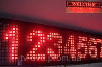 Табло LED  Бегущая строка  BX-5U  200х40 см  Красная  Уличная