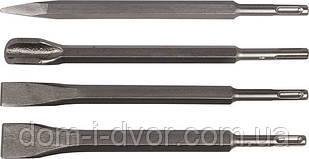 Зубило лопаточное SDS-PLUS с победитовой напайкой, 17x250x30