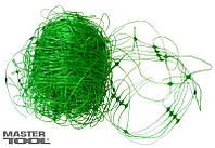 """Сетка пластиковая """"Огуречная"""" ячейка 130*150 мм, 2,0 * 5 м зеленая"""