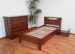 Односпальні ліжка 190\200 х 80\90