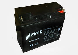 Аккумулятор TRINIX АКБ 18 Ач, 12 В