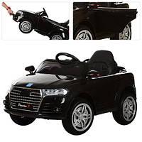 Детский электромобиль M 3179 EBLR-2 Audi на мягких EVA колёсах, кожаное сиденье, чёрный