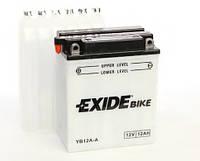 Аккумулятор мото EXIDE 12V 12AH 165A YB12A-A/EB12A-A [135X81X161]