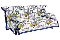 Диван - кровать СМС / SMS 1.4 см, ткань Лонета Times Square