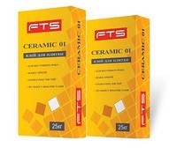 Клей FTS CERAMIC 01 для плитки 25 кг