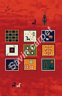 Иранский ковер (Персидский),  коллекция  Gabbeh, Sepidan, Dark Red