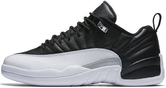 Баскетбольные Кроссовки Nike Air Jordan 12 Playoff Black White — в  Категории