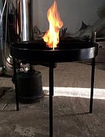 Подставка под автоклав: металл, 4 ножки, выход для подключения газовой/ бензиновой горелки
