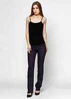 9006 Штаны джинсовые фиолетовые