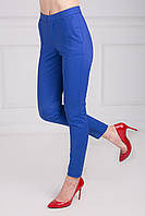 Модные женские укороченные брюки с высокой талией