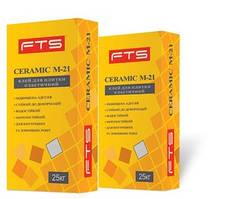 Клей FTS CERAMIC М-21 для плитки еластичний 25 кг