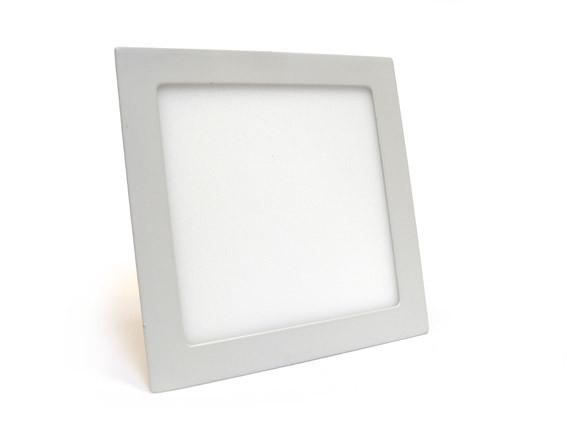 Светильник светодиодный 18W (3000 К) врезной квадратный Down Light Aluminum