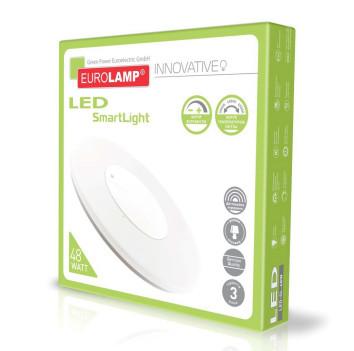 Світлодіодний світильник LED EUROLAMP SMART LIGHT 48W dimmable 3000-6500K