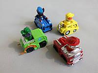 Щенячий патруль собачки 4 штуки набор paw patrol игрушка комплект для детей