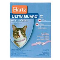 Hartz Ultra Guard ошейник от блох и клещей для котят, кошек и котов.