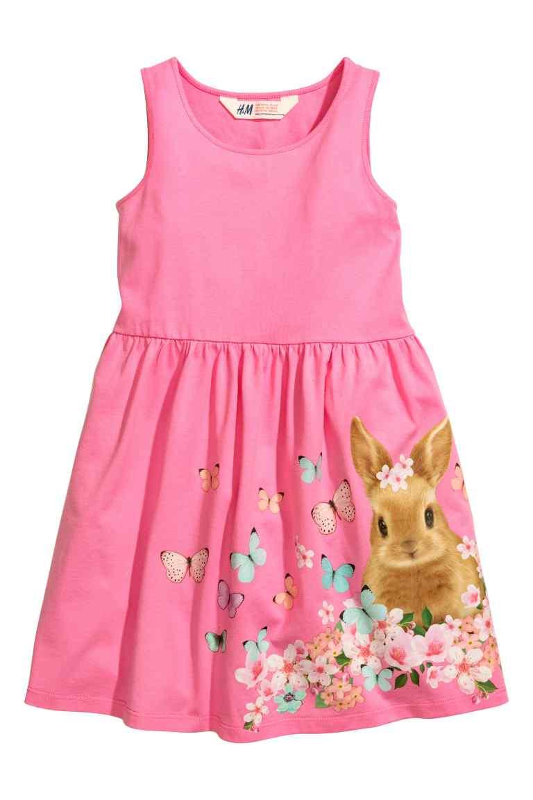 Летнее платье на девочку 2-4 года H&M Швеция Размер 98-104