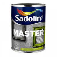 Алкидная эмаль Sadolin Master 30 1л - Полуматовая универсальная эмаль (Садолин Мастер 30)