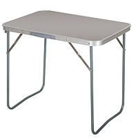 Маленький складной столик SX 5105, МДФ, алюминиевый каркас, 72х62х49 см, нагрузка до 30 кг, вес 2,7 кг