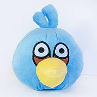 Мягкая игрушка Angry Birds Птица Джим  голубая средняя