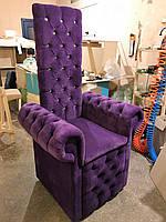 Кресло для педикюра Принчипесса. Мебель для салона красоты, под заказ.