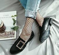 Носки женские сетка, цвет черный