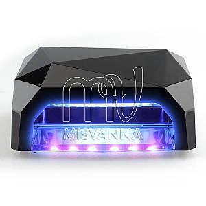 УФ лампа POWERFUL UV+LED DIMOND на 36 Вт (black)