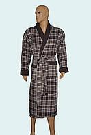 Халат мужской шаль вафельная  Фирмы MASSIMO MОNELLI