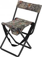 Складной стул для пикника со спинкой SK1102, металлический каркас, встроенная сумка, до 100 кг