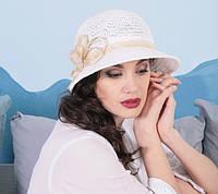 Летняя шляпа для женщин из натуральной соломки