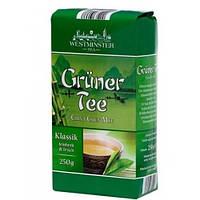 Зелёный листовой чай Westminster Tea Gruner Tee China Chun Mee .250г