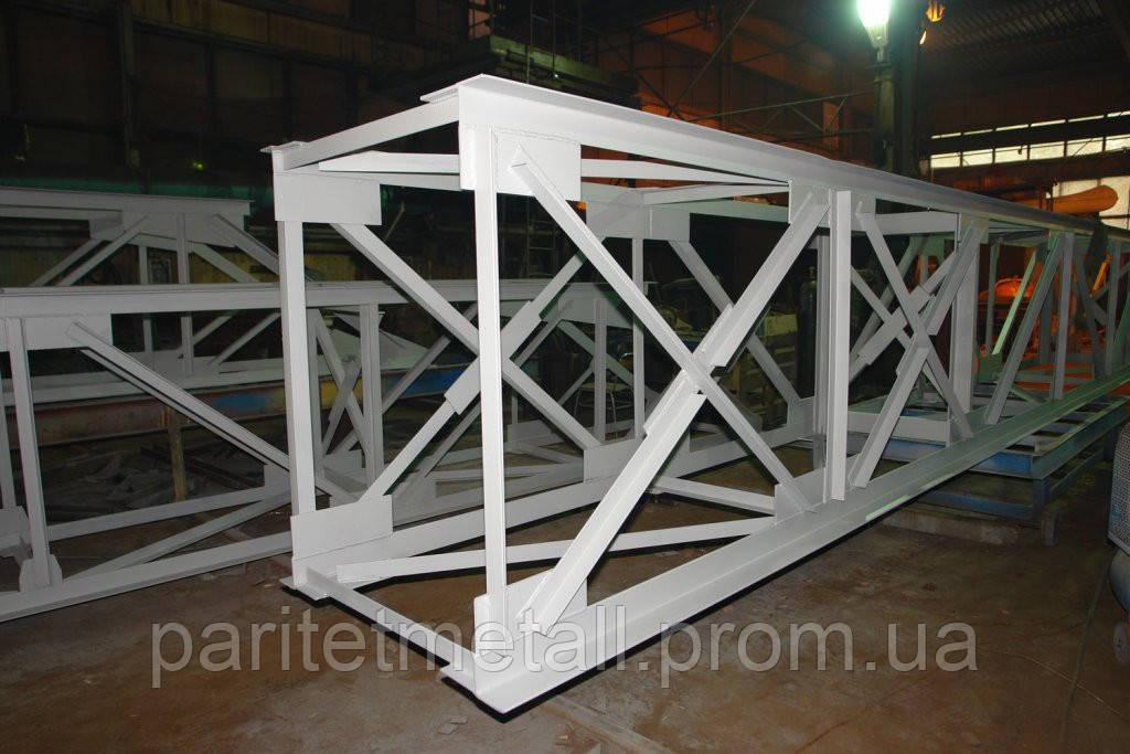 Изготовления металлоконструкций по чертежам заказчика