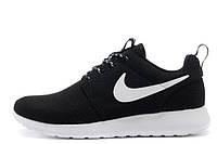 Мужские кроссовки Nike Roshe Run  II Black White
