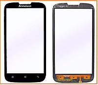 Сенсор (тачскрин) Lenovo A560 Black Original