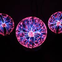 Плазменный шар Тесла, магический шар с молниями ночник!, фото 1