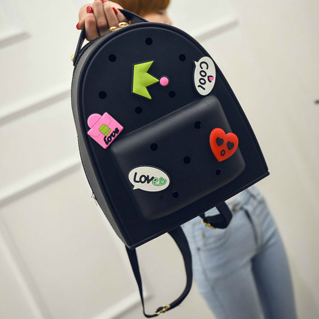 Силиконовый рюкзак Crocs