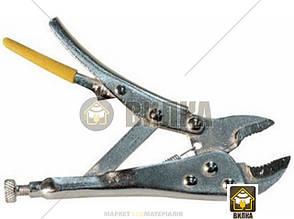 Зажим с полукруглыми губками Lavita LA 512200