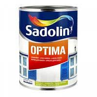 Эмаль Sadolin Optima 1л - Нестекающая краска для окон  (Садолин Оптима)
