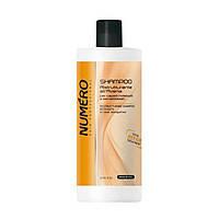 Шампунь для волос восстанавливающий с экстрактом овса Brelil Numero Total Repair Shampoo 1000 мл