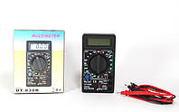 Универсальный мультиметр DT 830B, многофункциональный цифровой тестер