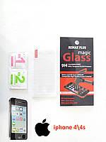 Защитное стекло на Iphone 4