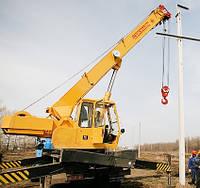 Установка опор освещения СВ-95, СВ-105, установка ЖБ столбов