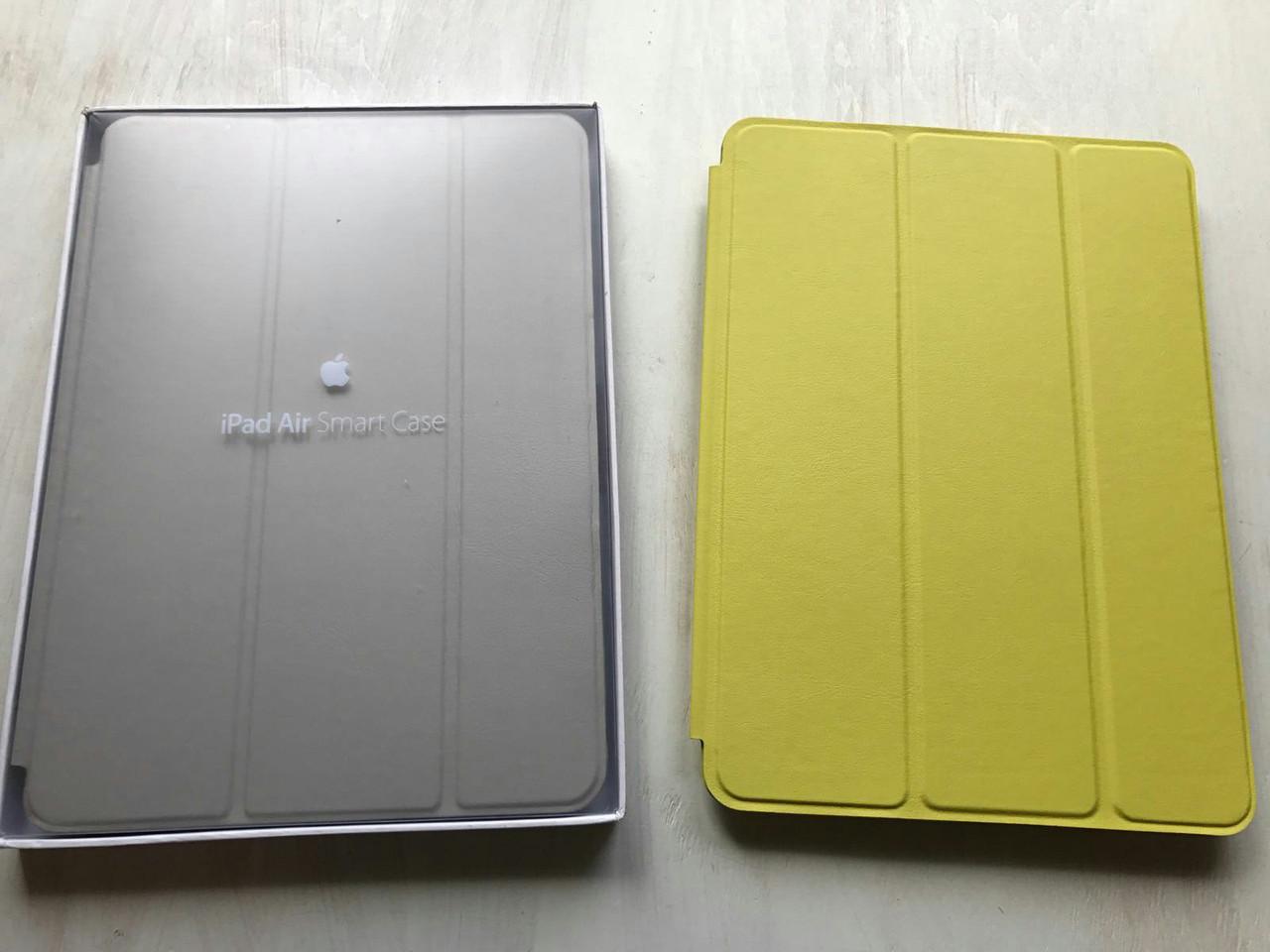 Салатовый кожаный чехол Smart Case для iPad Air