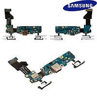 Шлейф для Samsung Galaxy S5 Neo G903, коннектора зарядки, с компонентами, оригинал