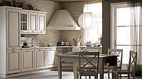 Кухня бежевая, коричневая Прованс Мемори