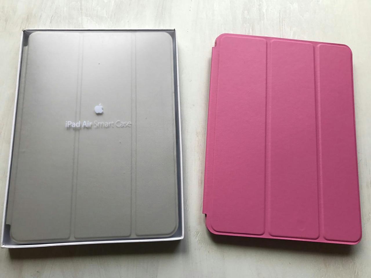 Розовый кожаный чехол Smart Case для iPad Air 2