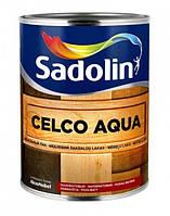 Лак Sadolin Celco Aqua 10 1л - Водорастворимый матовый лак для стен (Садолин Cелко Аква 10)