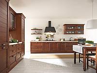 Кухня бело-коричневая Клаудия