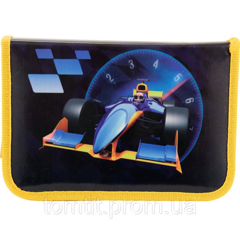 Пенал - книжка Grand Prix K17-622-8 раскладной с 2 отворотами, ТМ Kite