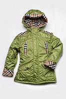 Куртка-парка для мальчика утепленная оптом
